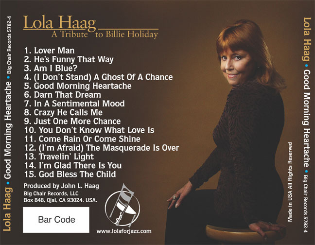 lola haag cd back cover good morning heartache peter d aprix